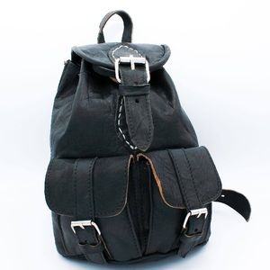 Handbags - Small Handmade Leather BackPack